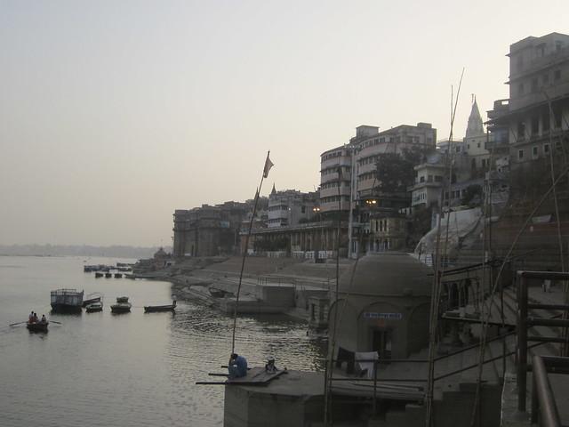 the Ganga riverfront, Varanasi