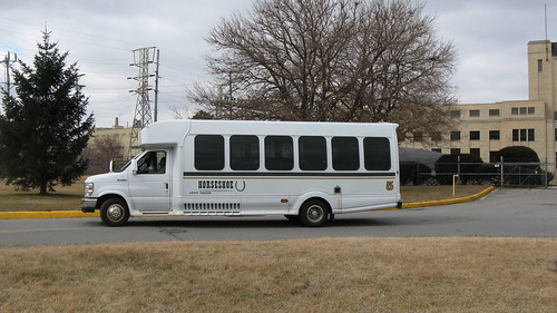 Horseshoe Casino Ford mini shuttle bus.  Hammond Indiana USA. Sunday, March 4th, 2012. by Eddie from Chicago