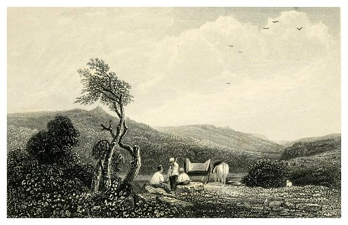 019-Wharncliffe-Ivanhoe-Finden's landscape illustrations of the Waverley novels.. 1834-varios artistas