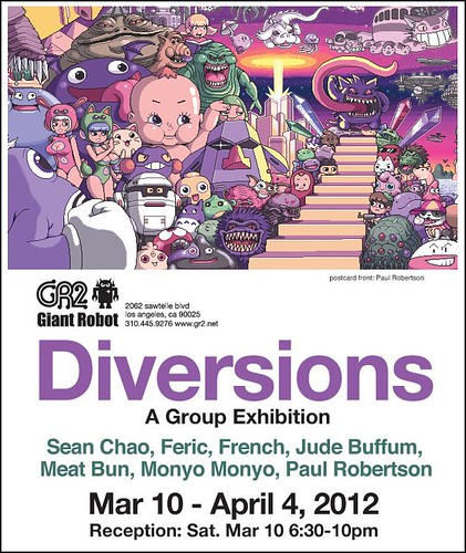 Diversions Show at GR2