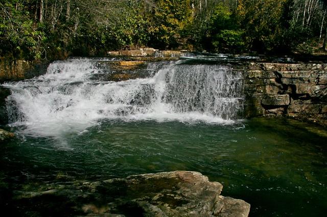 Dismal Falls in Giles County Virginia (March 10, 2012)