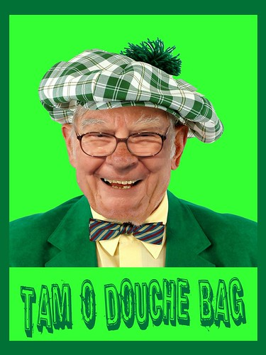 UNCLE WARREN: TAM O DOUCHE BAG by Colonel Flick/WilliamBanzai7