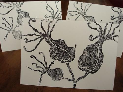 succulent blossom cards