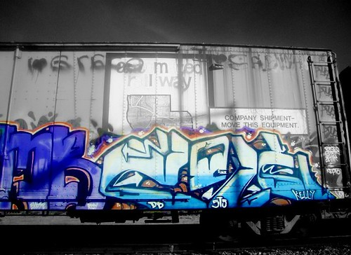train graffiti #3