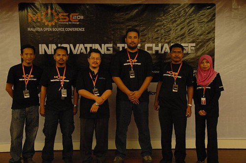 Malaysia Open Source Conference Team