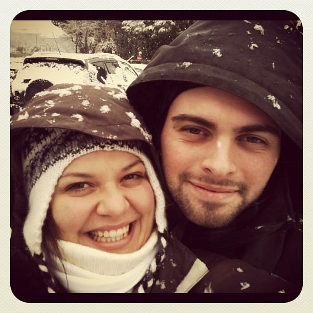 Che nevica??? #nevearoma #love
