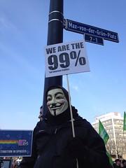 STOP ACTA Dortmund: Guy Fawkes