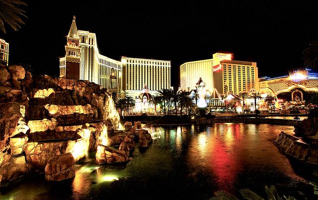 Vegas from Mirage