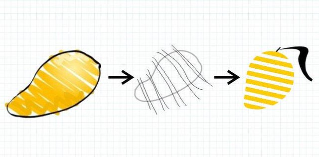 Striped Mango Logo Development