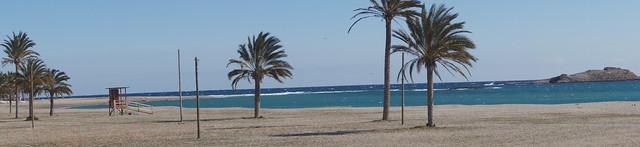 Playa de Carboneras.
