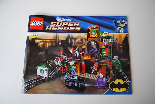 [Review] Super Heroes 6857: The Dynamic Duo Funhouse Escape 6863654879_bf01751666