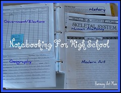 High School Notebook Pages