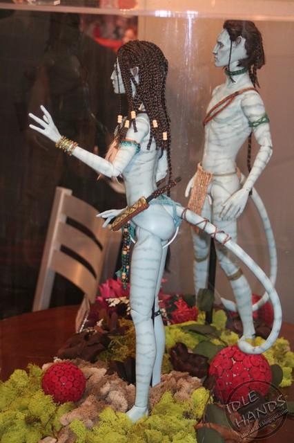 Toy Fair 2012 Tonner 161 - куклы из Аватара