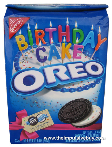 REVIEW Nabisco Limited Edition Birthday Cake Oreo The Impulsive Buy