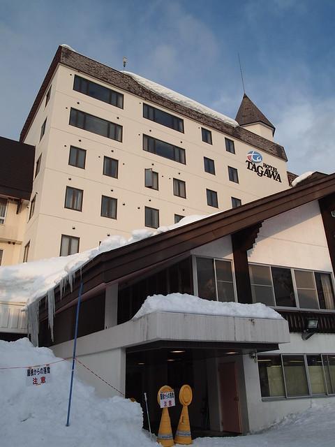 這次旅行住宿的Hotel TAGAWA
