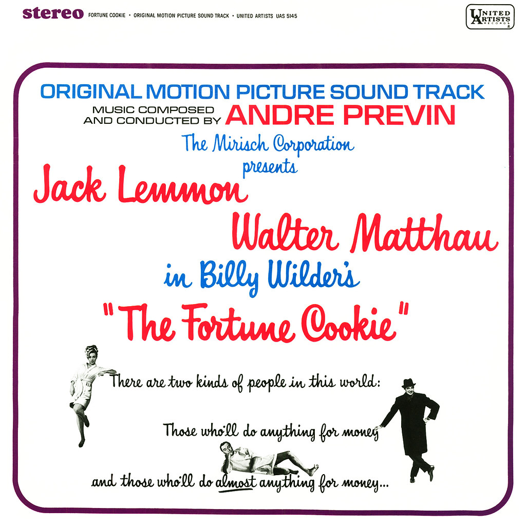 Andre Previn - The Fortune Cookie