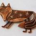 Foxy brooch BR
