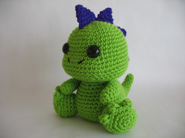 Crochet Dinosaur : Amigurumi Dinosaur Flickr - Photo Sharing!