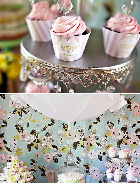 Sprinkle Shower: Girl Baby Shower 4