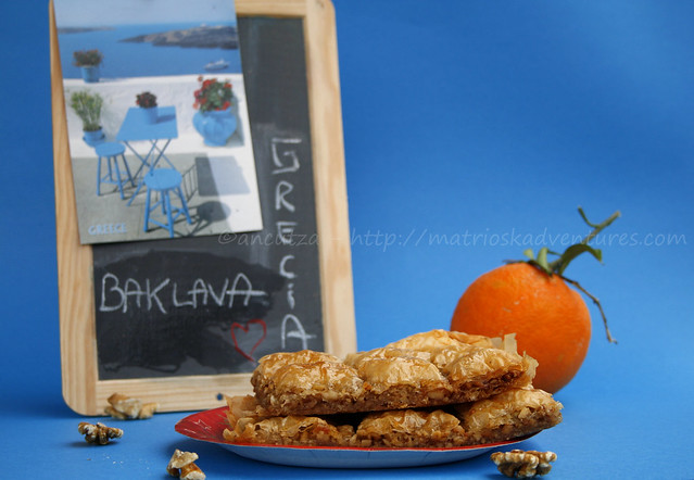 foto baklava alle noci dolce greco e turco