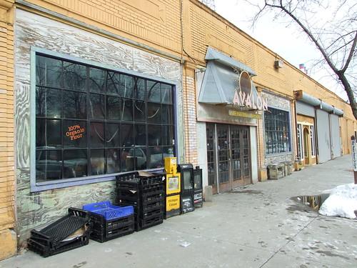 Outside Avalon Bakery