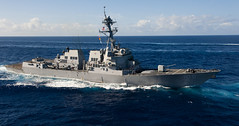 USS Wayne E. Meyer (DDG 108) file photo.