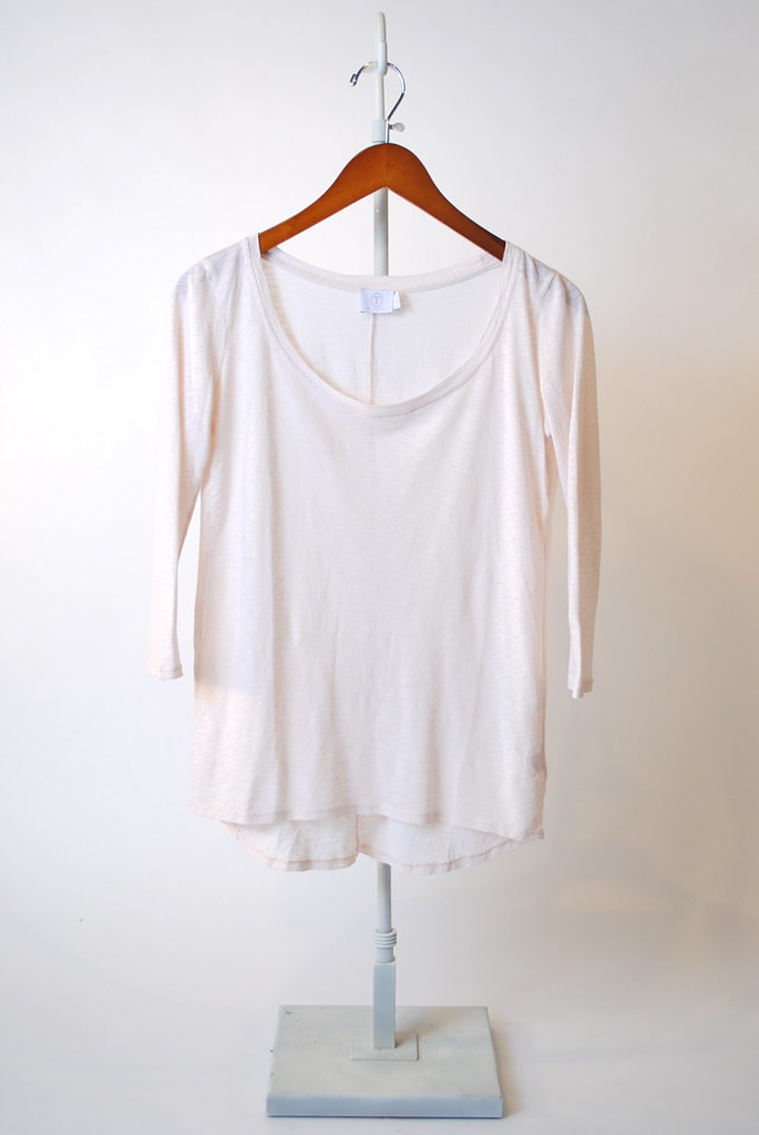 3/4 Sleeve Scoop Neck Top
