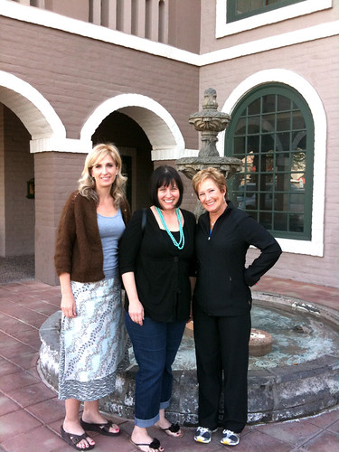 Lunch with Bari J., and Paula Prass