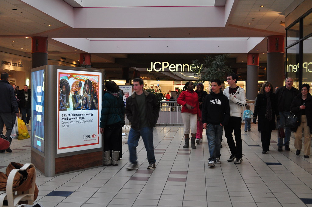 HSBC Directory at Crossgates Mall   Blue Outdoor   Flickr