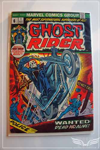 The Establishing Shot: 1973 Ghost Rider Issue #1 by Craig Grobler