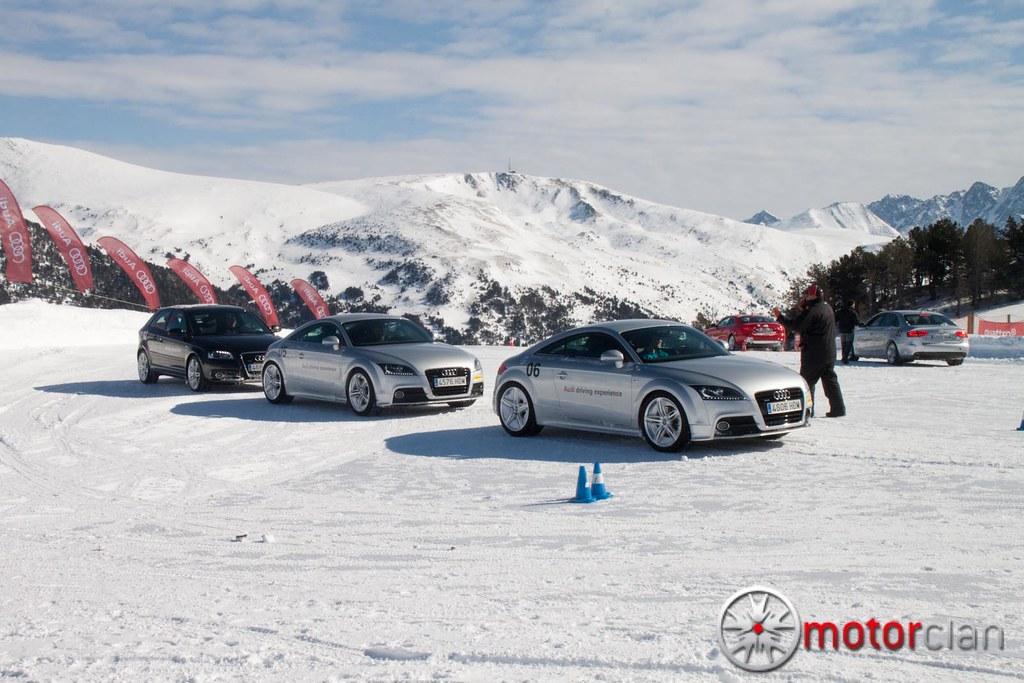 Audi TT en Audi Driving Experience