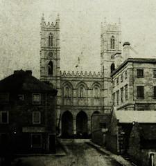 Vieux-Montréal 1857. Côte de la Place-d'Armes >Sud.