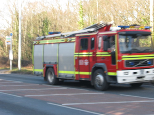 Hampshire Fire And Rescue Service Driver Training Vehicle Volvo Water Tender Ladder ( HX04 ZRU )