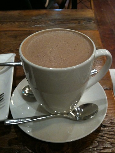 Large Hot Chocolate ($6.50)