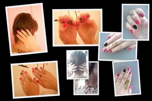Unhas coloridas +  novo corte de cabelo by Ana Canto