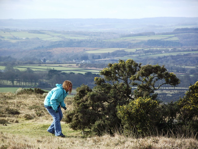 Becky's prancing around Dartmoor was bound to land her in the s**t...!