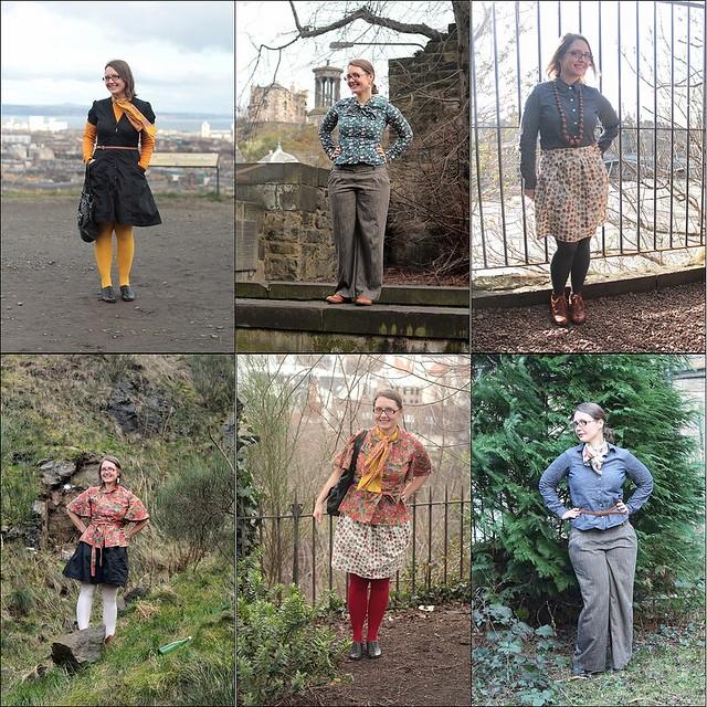 capsule wardrobe challenge roundup