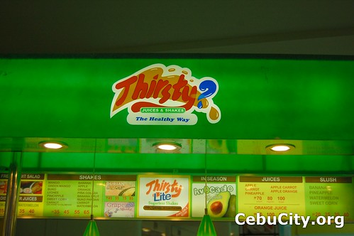 Thirsty Juices Shakes Cebu