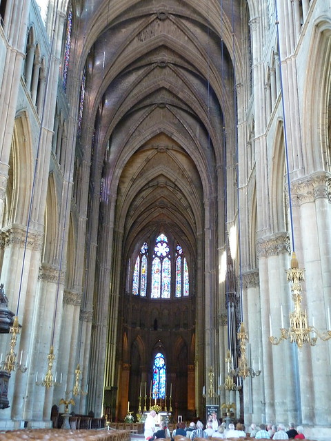 Interior Reims Cathedral | Explore pov_steve's photos on ...