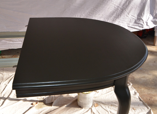 It Guide to Painting Furniture Wills CasaWills CasaPainting Dining Table Black  painting a dining room table black  . Painting Dining Table Black. Home Design Ideas