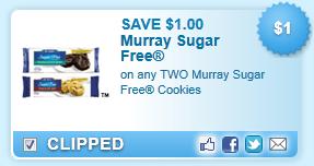 Murray Sugar Free Cookies Coupon