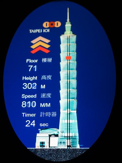 台北101 高速エレベーター