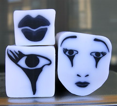 Mime/Clown series canes