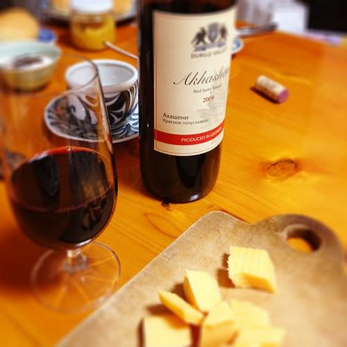 グルジアのワイン@実家