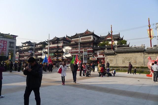 Shanghai: Yu Yuan Garden 豫园 & Cheng Huang Taoist Temple (Cheng Huang Miao 城隍庙)