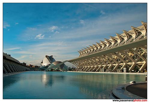 Ciudad de las Artes y de las Ciencias by joaoamaralphoto