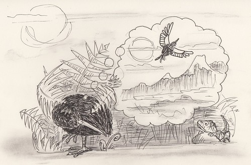 Drawing twenty-four : kiwi dreams