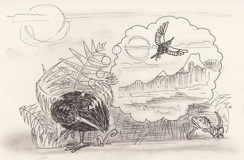 Drawing twenty-four : kiwi dreams