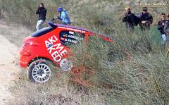 V Tramo cronometrado de tierra Loeches 2012 - Eduardo Pazos/Carlos Gonzalez - Peugeot 206 XS