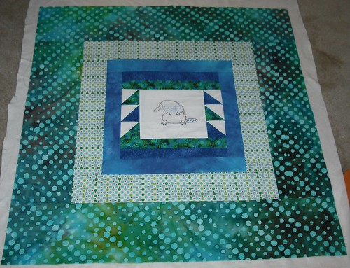 platypus charity quilt